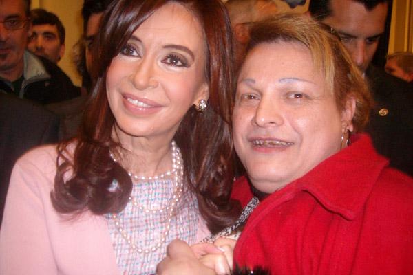 Eliana con Cristina Kirchner