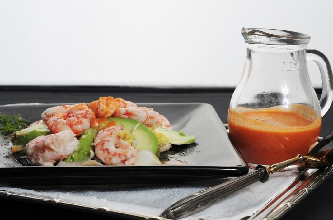 Ensalada de langostinos con salsa de eneldo blogs - Ensalada de langostinos ...
