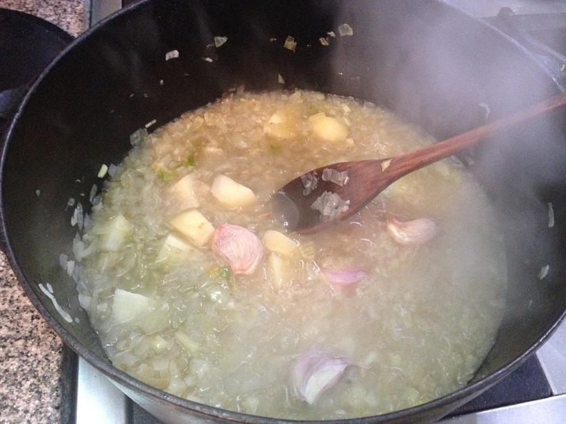 Para agasajar a gente muy querida, un salmón creole, especiado y con leche de coco