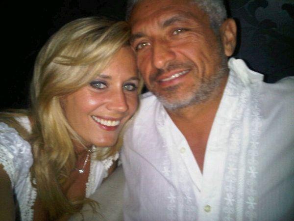 Rocío y su novio Fernando.
