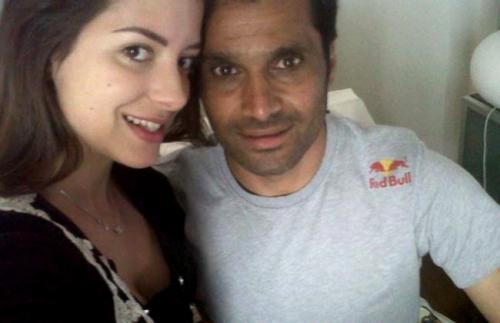 Nasser Al-Attiyah with beautiful, Single