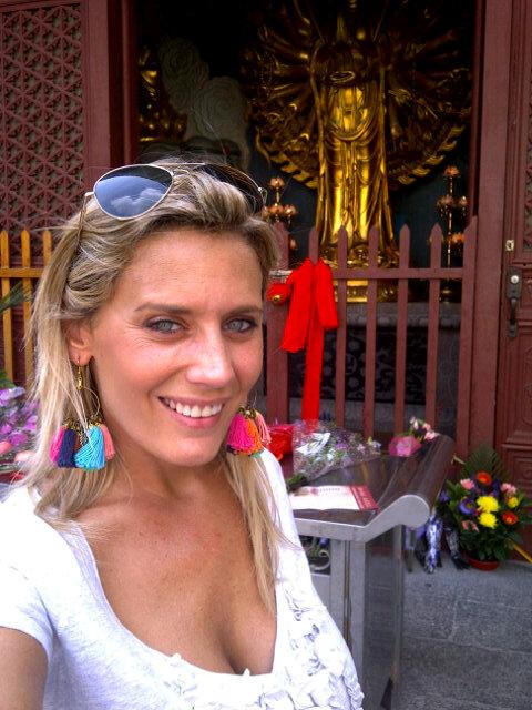 Rocio Marengo en Hong Kong