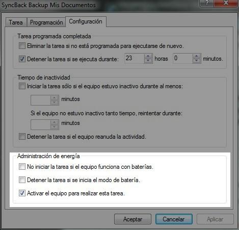 Backup automático para tu compu –SyncBack y Cobian - Blogs lanacion com