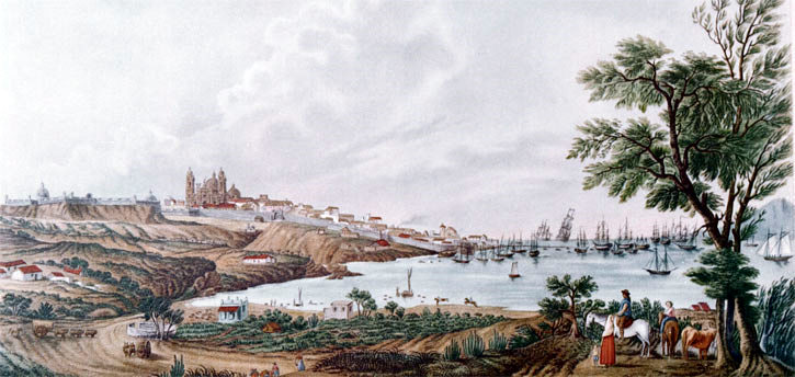 Montevideo en 1794