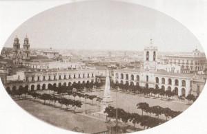 Plaza de Mayo 1867