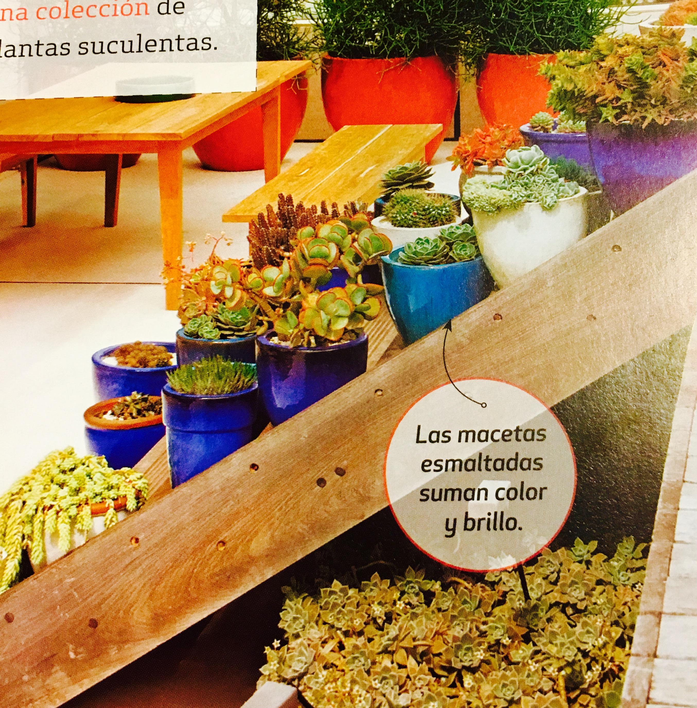 Nuevo Booka 100 buenas ideas de jardinera Blogs lanacioncom