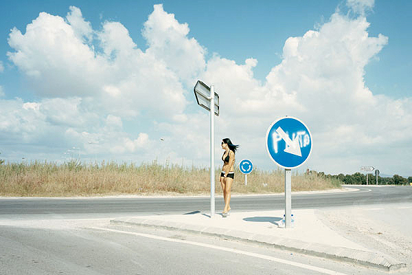 Carretera C-31 © Txema  Salvans