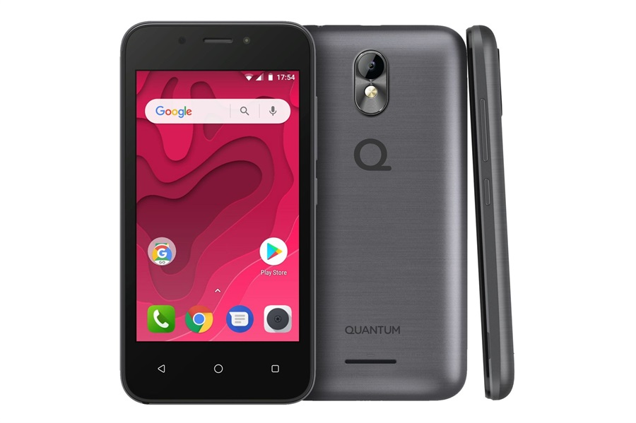 dffd43eda5b Luego, también, la presentación del Quantum Mini, un smartphone de 1500  pesos con Android Go, la versión compacta de Android 8.0 y un hardware ...