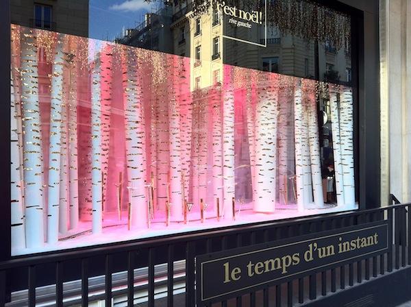 Las vidrieras navide as en fotos blogs for Decoracion de vidrieras de ropa